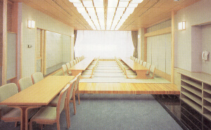 久保山斎場和室休憩室