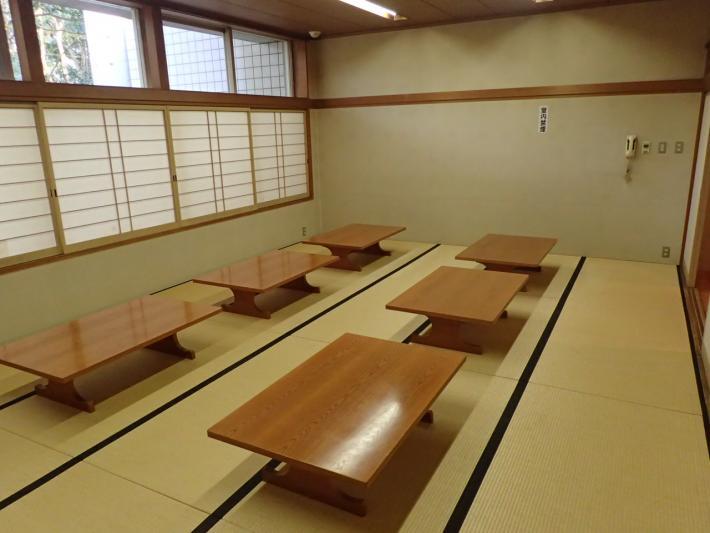 藤沢市斎場(大庭斎場)の和室控室