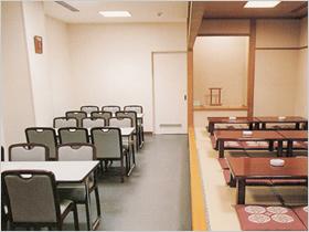 堀ノ内斎場控室