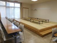 馬込斎場第一式場控室