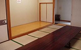 思い出の里会館控室