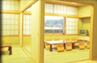 臨海斎場遺族控室