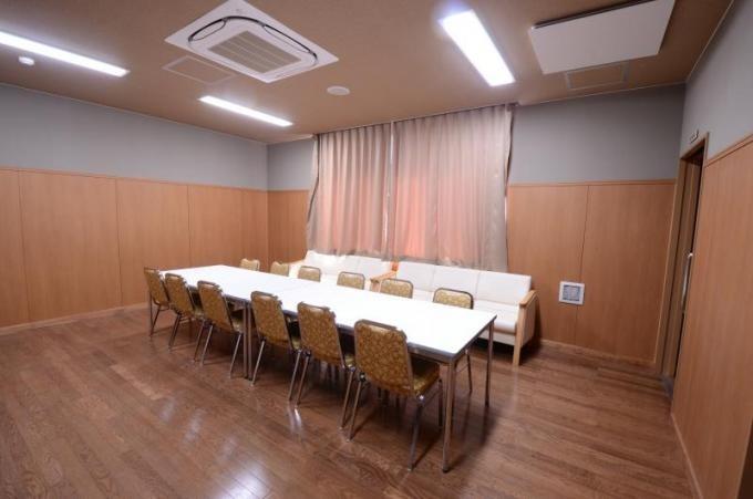 行田市斎場遺族控室